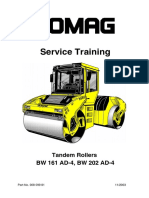 bomag tandem vibratory roller combination roller bw125adh bw135ad bw138ad bw138ac maintenance and operating manual