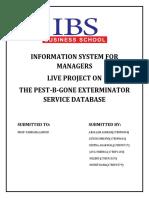 information system for management