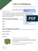 wiki cubo de rubik 3×3×3 método para principiantes 6p.pdf