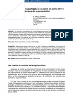 Evaluation of Mycorhization (French)