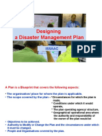 Developing a Disaster Management Plan