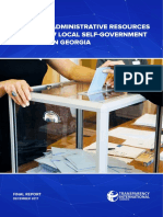 Misuse of Administrative Resources During 2017 Local-Self Government Elections