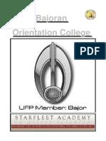Bajoran Manual 2016 (USA)