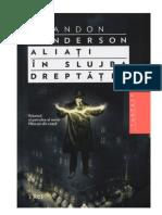 Brandon Sanderson - Aliati in Slujba Dreptatii v 1.0