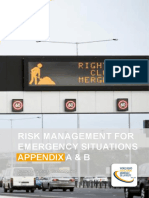 World Road Association - Risk Management for Emergency Situations Appendix a B Case Studies