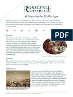 171 Rosslyn Adult Learning Guide Sports and Games in the Middle Ages FINAL
