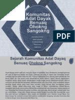 Komunitas Adat Dayak Benuaq Ohokng Sangokng