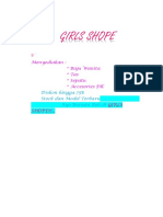 Girls Shope