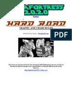 Cyberpunk 2020 - Datafortress 2020 - Hard Road