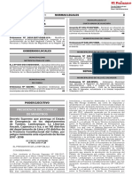 Decreto Supremo que prorroga el Estado de Emergencia en los departamentos de Tumbes Lambayeque La Libertad Ancash Cajamarca e Ica y en 145 distritos del departamento de Lima y 03 distritos de la Provincia Constitucional del Callao por peligro inminente ante el periodo de lluvias 2017 - 2018