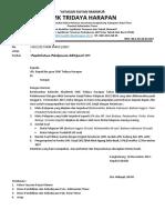 3. Surat Pemberitahuan UAS Ganjil