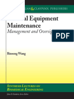 Medical Equipment Maintenance Management and Oversight - Binseng Wang