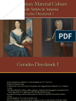 Portrait Artists - Duyckinck I