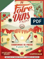 Foire aux vins 2018
