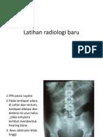 Latihan radiologi baru