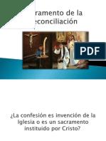 Charla sobre la  Reconciliación
