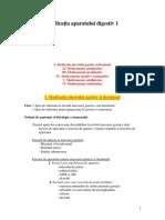 07 - Medicaţia Aparatului Digestiv 1