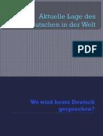 Aktuelle Lage Des Deutschen in Der Welt Kurz
