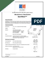 SportBase - SportBase Specification
