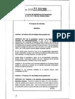 2. Ley 1032 22 06 06 - Propiedad Intelectual