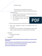 PSED 30 Facilitation Plan Sample