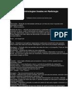 Terminologia Em Radiologia
