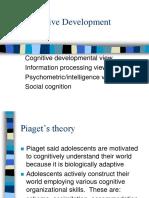 Adc Child Adolescent Devt Cognitive Devt Adolescents