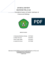 Jurnal Review Core Areas and Periphery Regions