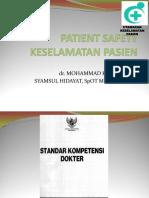 Patient Safety, Kuliah Unmuh, 8 Desember 2014