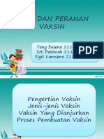 Tugas Presentasi Jenis Dan Peranan Vaksin-kelas 3B