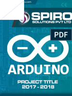 ARDUINO Project Titles 2017