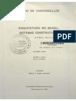 Arquitetura No Brasil Silvio de Vasconcelos