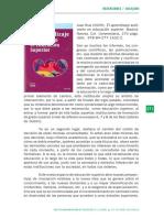 Recension Libro de AP Autonomo en Educ Superior