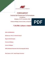 Programma provvisorio 2010