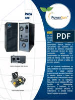 UPS Tipo Torre PWS 6KVA Bifásica
