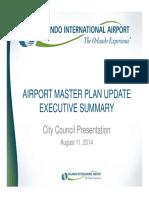 GOAA Workshop Airport Master Plan Update 08.11.14