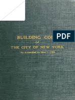 NYC 1922 Building Code