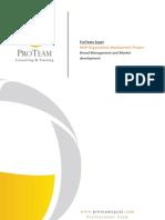 MUP Branding Consultation Proposal Proteam (ProTeam,2010 )