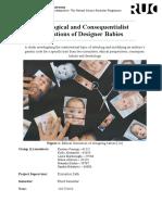 PDF Group 1 KKLMSN Ethical Implication of DesignerBabies