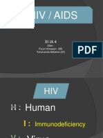 HIV AIDS by Yuhand