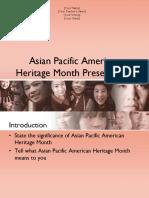Asian Pasific American