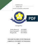 Morphology Paper