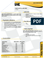 Bardahl Motos 4t Sae 20w50 API Sl Ft