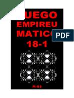 (M-85) Fuego Empireumatico 18-1