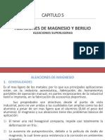 ALEACIONES DE MAGNESIO Y BERILIO