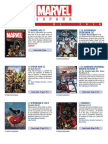 Proximas Novedades Marvel - Marzo 2017