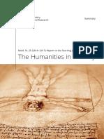 Norway Humanities White Paper