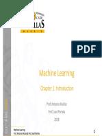 MachineLearning Ch1 Introd v1