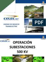 Operación SE 500 KV