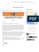 03.02.15 Neighborhoods First Newsletter - March 2015 - Mike Bonin - Council District 11